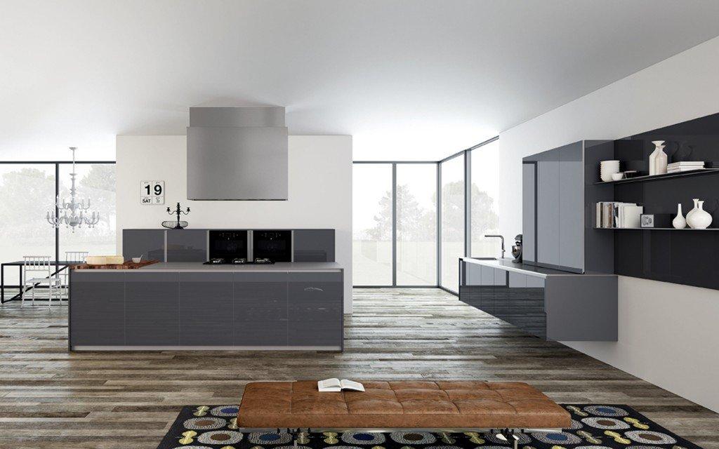 passatoie cucina disegno geometrici : Disegno Isola Cucina : Le forme lineari e il disegno geometrico sono ...