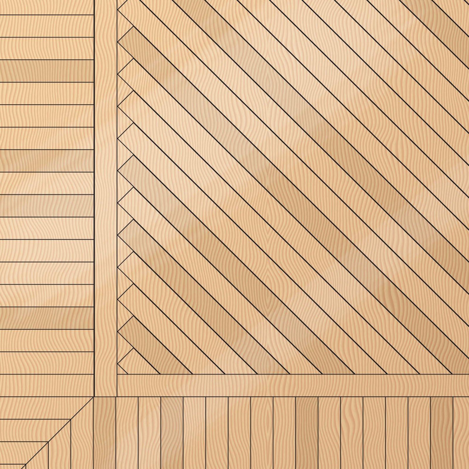 Parquet geometrie e tipi di posa cose di casa - Schemi di posa piastrelle rettangolari ...