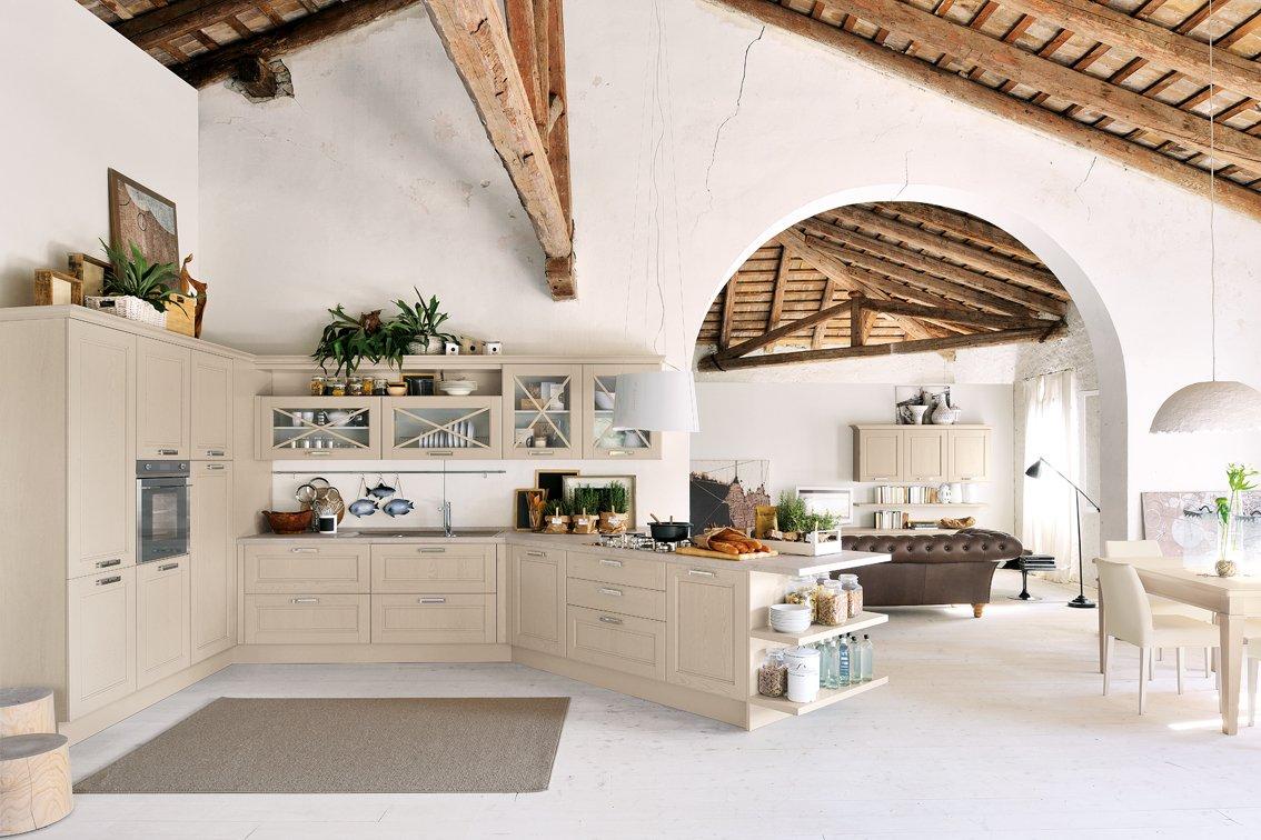 Cucina in legno moderna o classica cose di casa for Disegni di casa piano aperto
