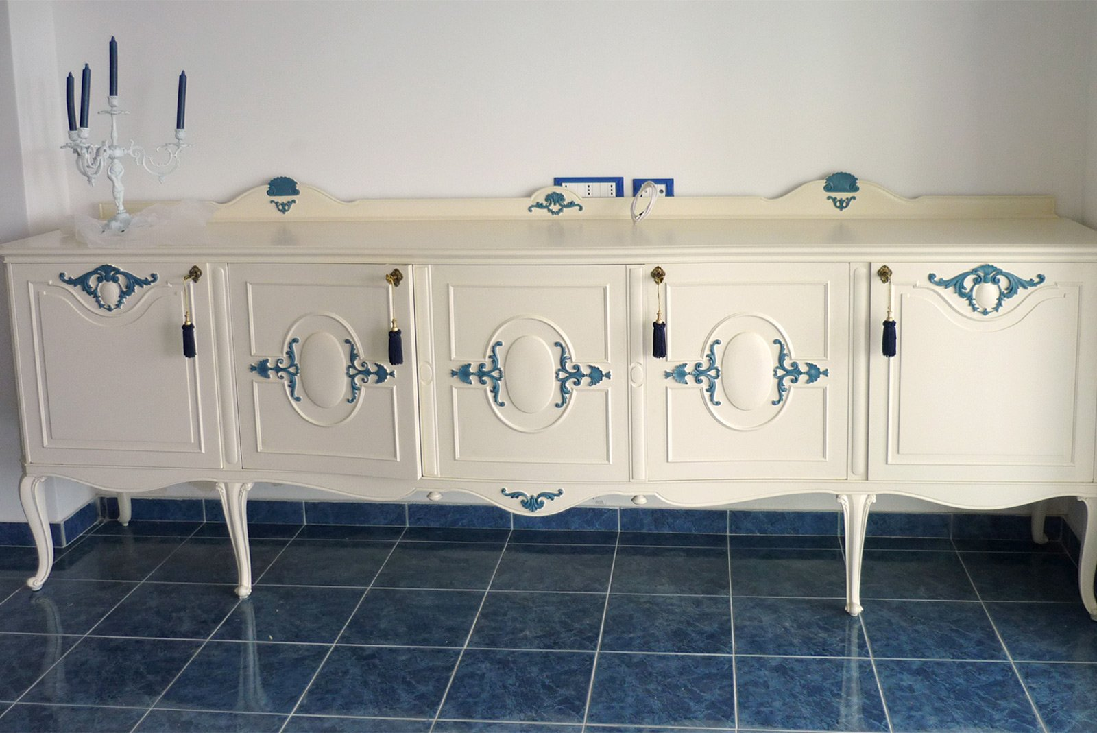 Nuovo smalto a vecchi mobili cose di casa - Recupero mobili vecchi ...