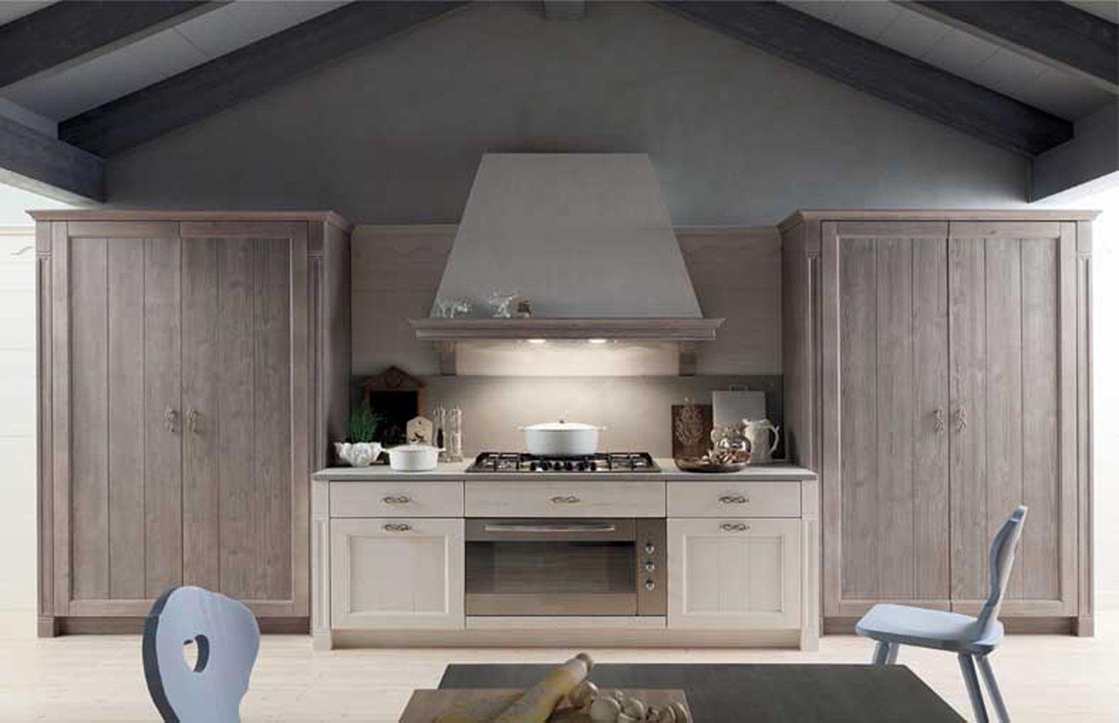 Cucina in legno moderna o classica cose di casa - Cucine componibili senza frigo ...