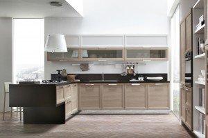 Cucine con penisola cose di casa - Pensili cucina prezzi ...