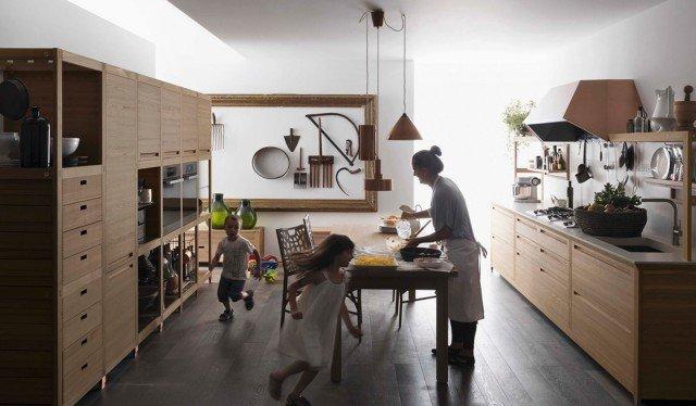 Cucina in legno moderna o classica cose di casa for Spargere i piani della casa degli ospiti