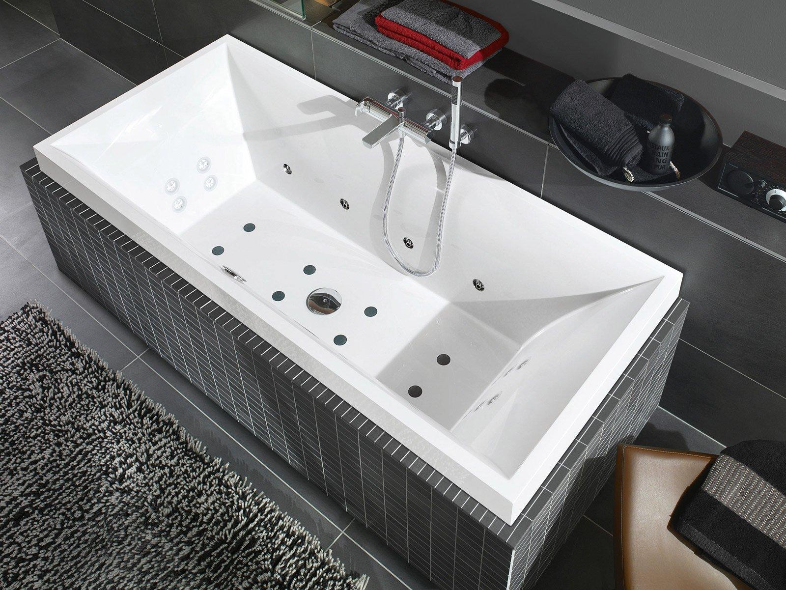 Vasche Da Bagno Moderne Idromassaggio Multifunzione: Vasche ...