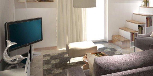 Arredare un soggiorno con tante aperture sulle pareti - Cose di Casa