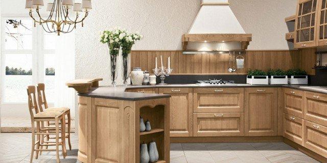 Cucina in legno, moderna o classica