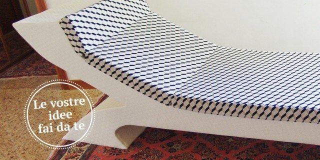 Chaise longue, comoda e moderna