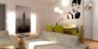 Divano, luci e tavolo: quale disposizione?