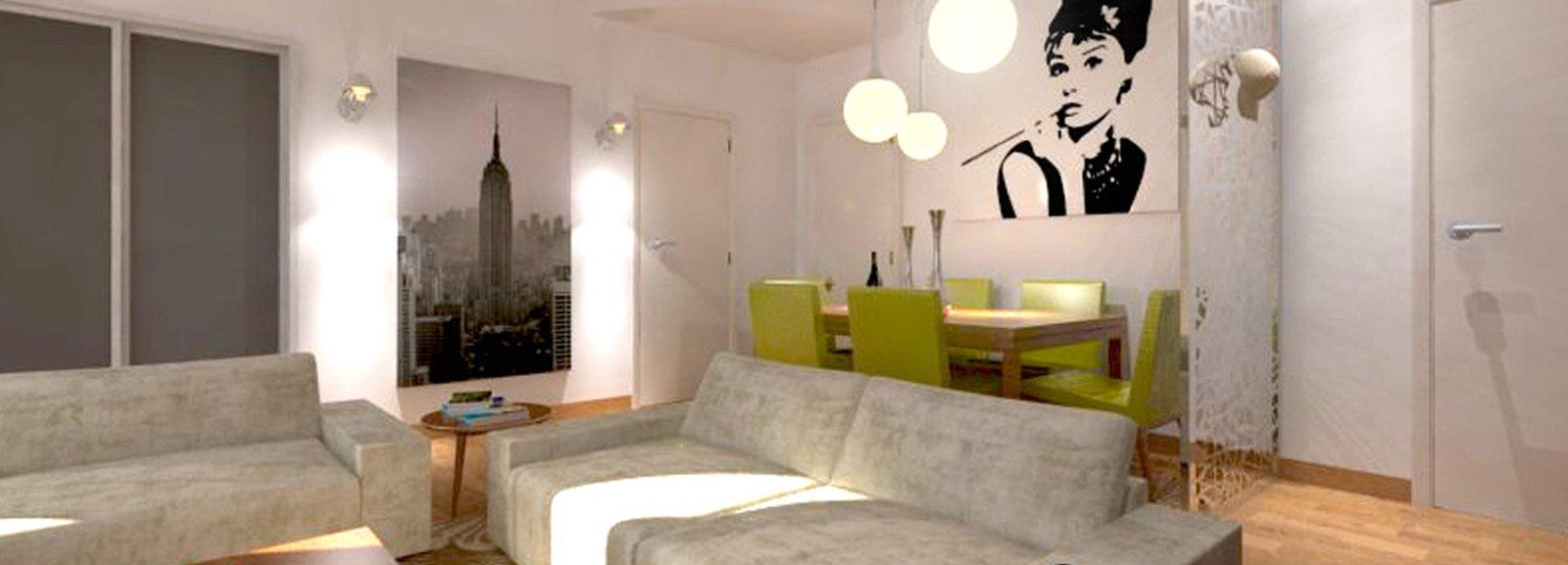 Divano luci e tavolo quale disposizione cose di casa - Disposizione salotto sala pranzo ...