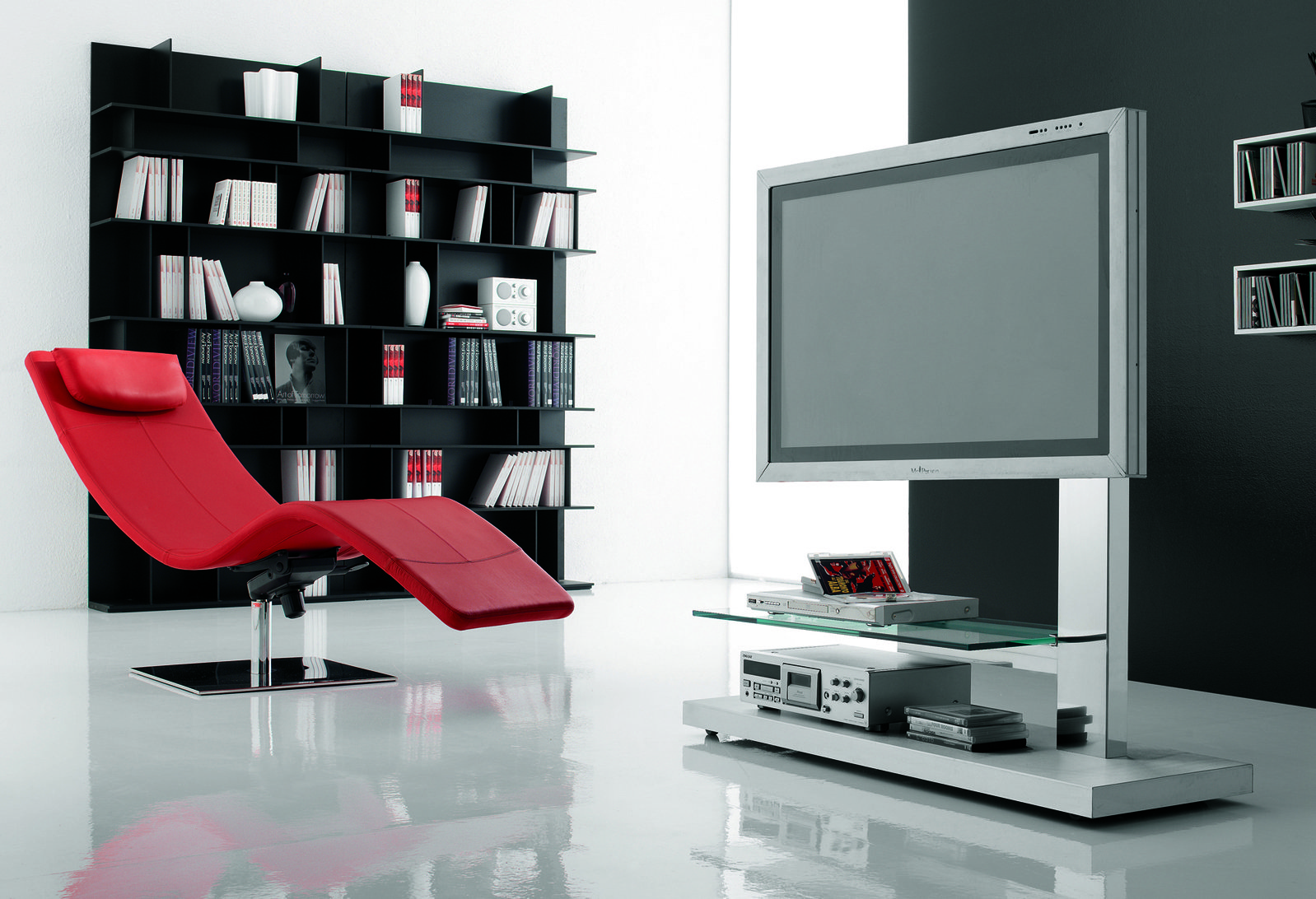 Tavolini In Vetro Porta Tv : Tavolino porta tv girevole in vetro