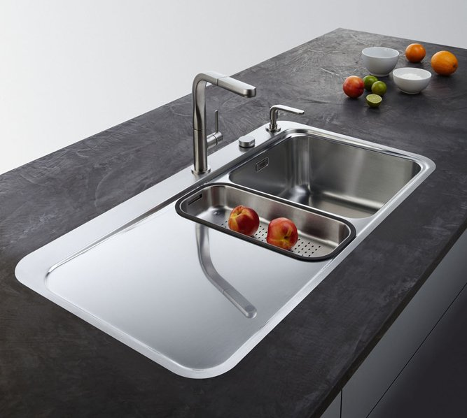 Lavelli Cucina Inox Incasso : Lavelli per la cucina non solo acciaio cose di casa