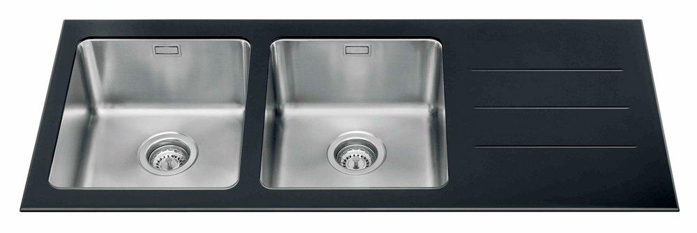 Lavelli per la cucina non solo acciaio cose di casa for Lavello nero