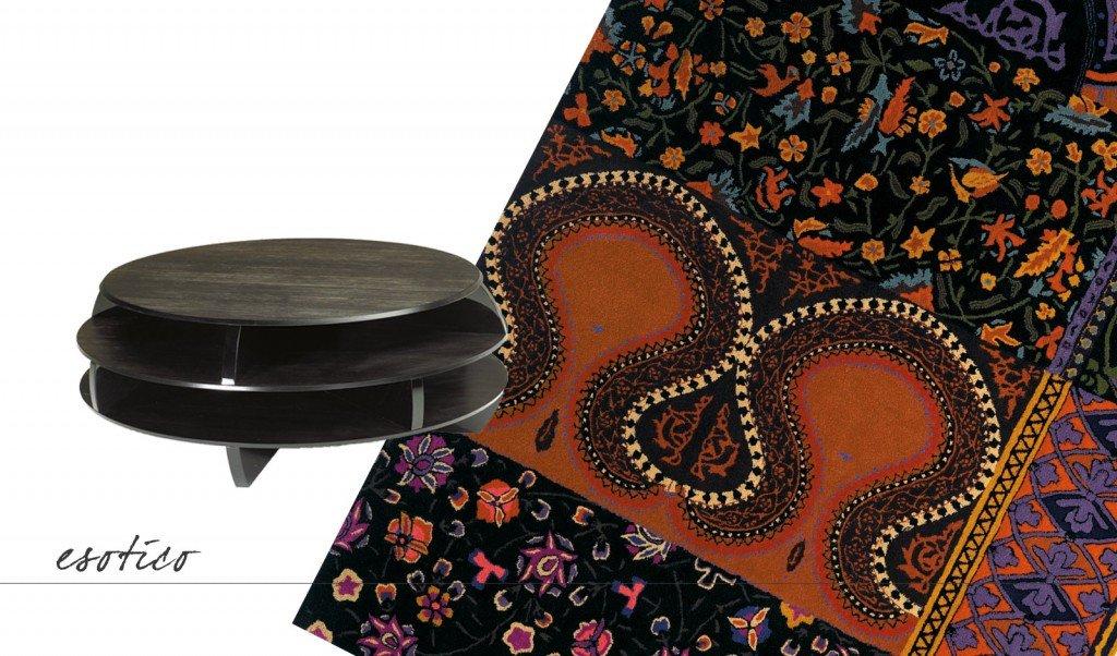 Tavolino e tappeto abbinamenti per stile e colori cose for Piccoli piani di casa di un livello