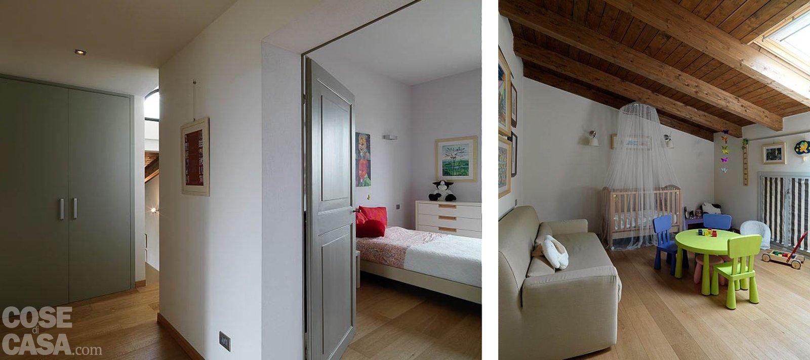 Casa classica con finiture e mobili d 39 epoca cose di casa for Camere da letto arredate da architetti