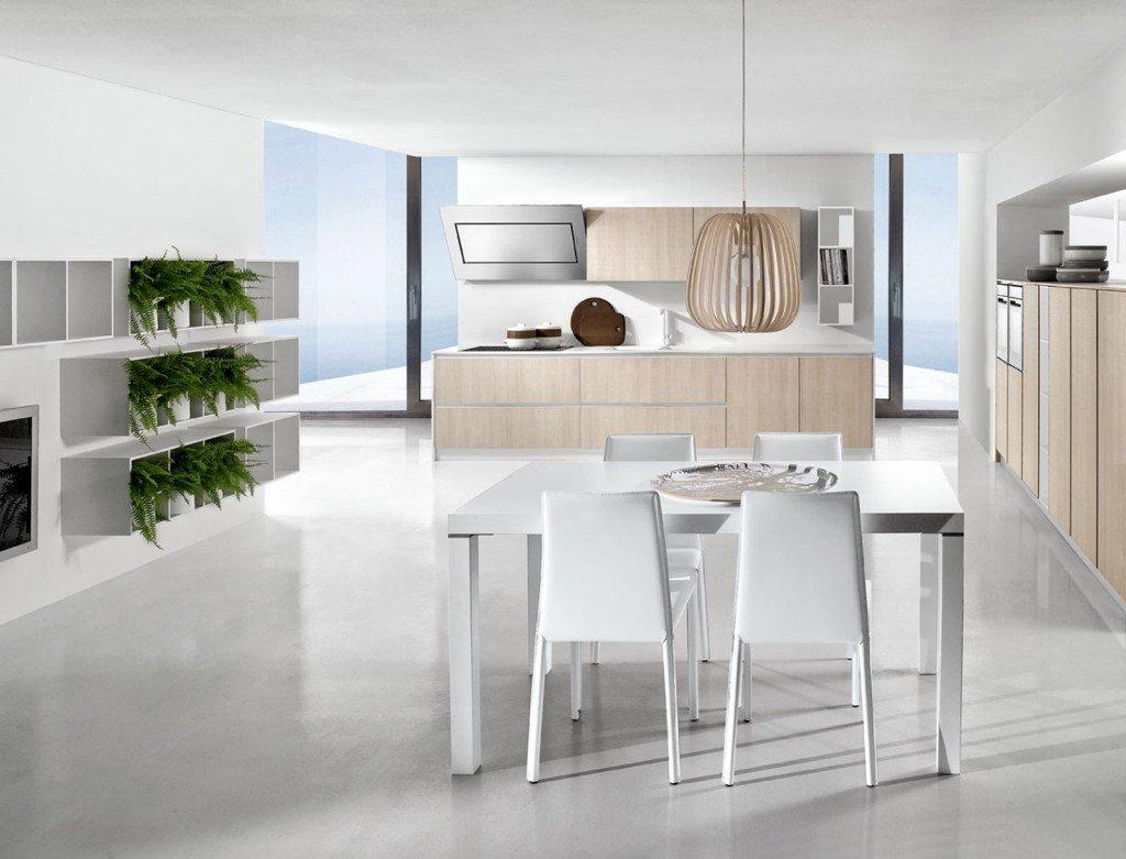 Cucine In Vetro Con Superfici A Specchio #4B5B27 1024 781 Pensili Da Cucina A Roma