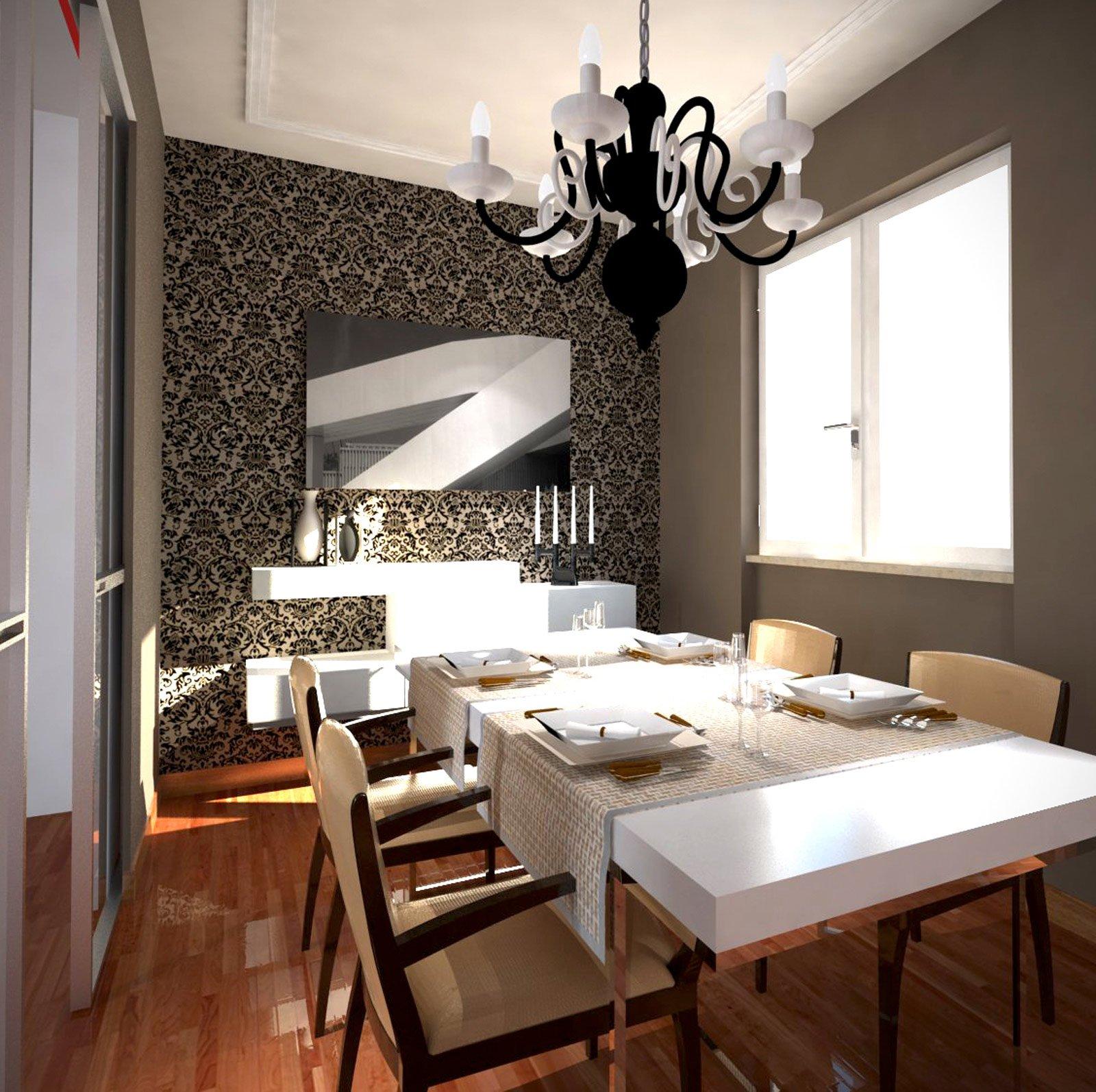 Apertura Nel Muro Tra Cucina E Sala Da Pranzo - Gardinen Ideen