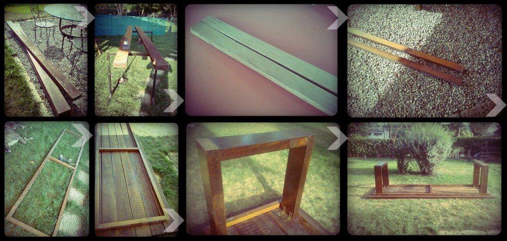 Un maxi tavolo in legno di recupero cose di casa - Ristrutturare tavolo in legno ...