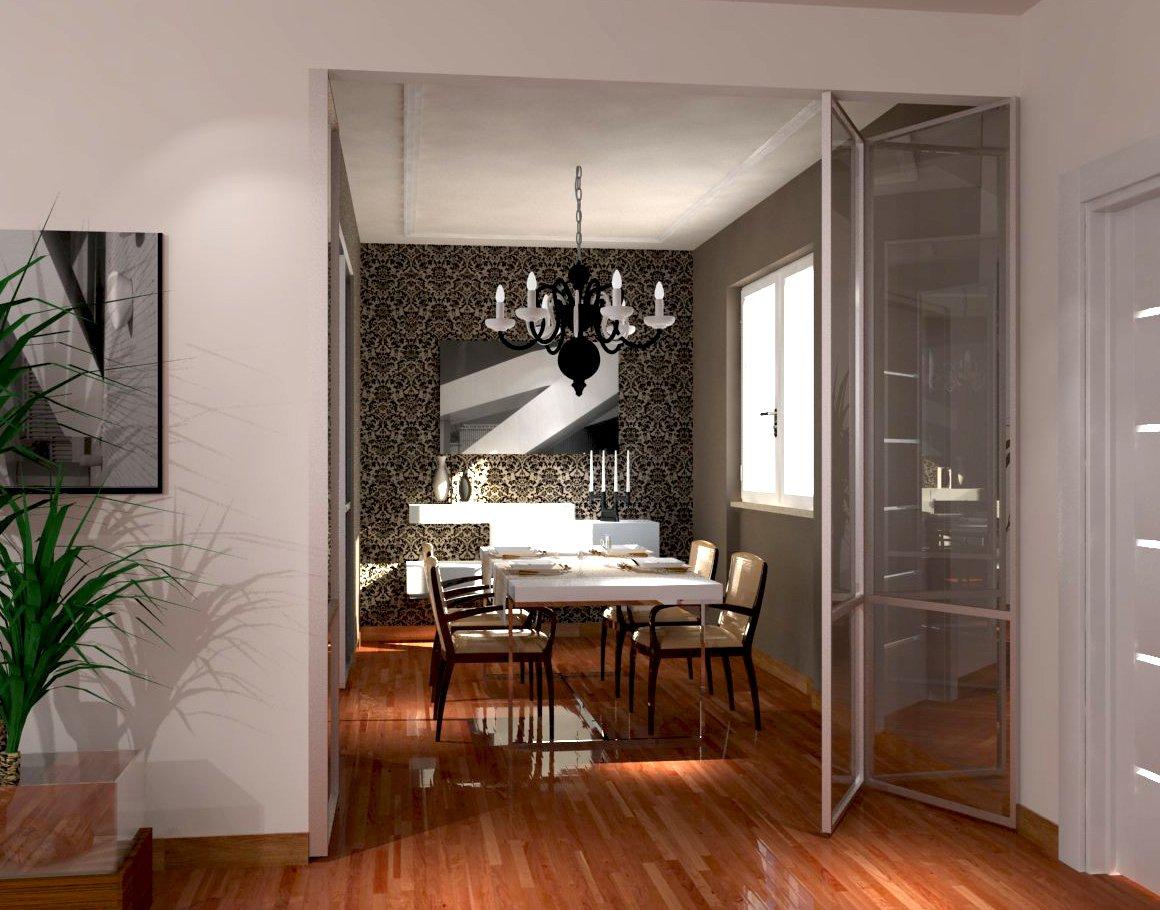 Soggiorno E Zona Pranzo: A Vista Ma Divisi Cose Di Casa #A74B24 1160 910 Come Arredare Soggiorno Sala Da Pranzo