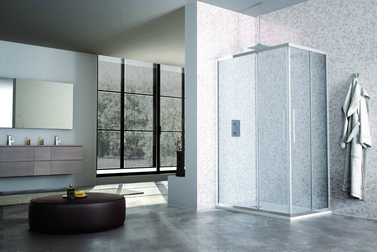 Box doccia low cost cose di casa - Box doccia vetrocemento ...