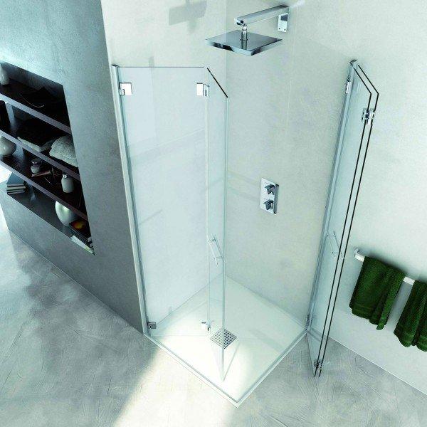 Docce chiusure in vetro per modelli squadrati cose di casa - Box doccia design minimale ...