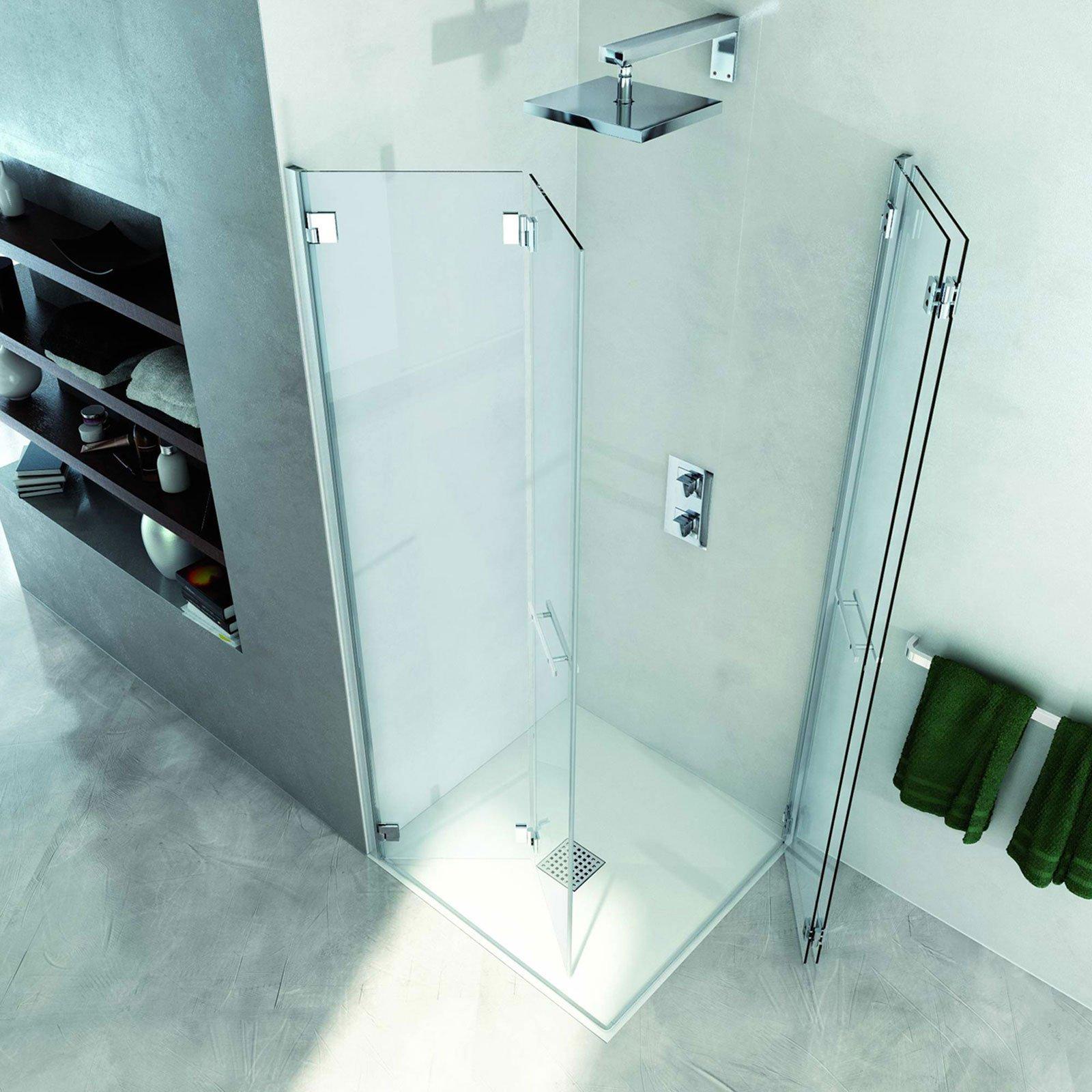 Docce chiusure in vetro per modelli squadrati cose di casa - Il box doccia ...