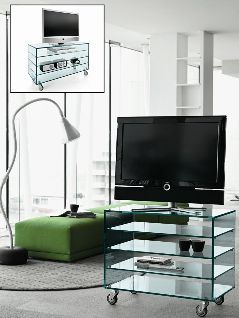 Mobili portatv cose di casa - Mobili porta tv in vetro ...