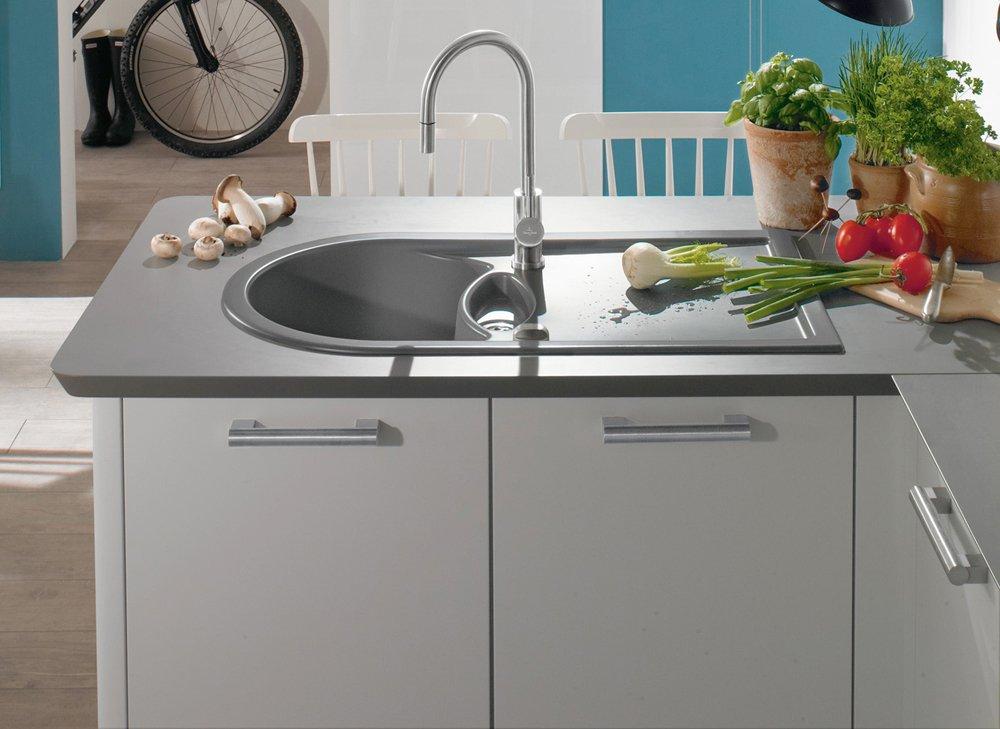 Lavelli per la cucina non solo acciaio cose di casa - Lavandini cucina ceramica ...