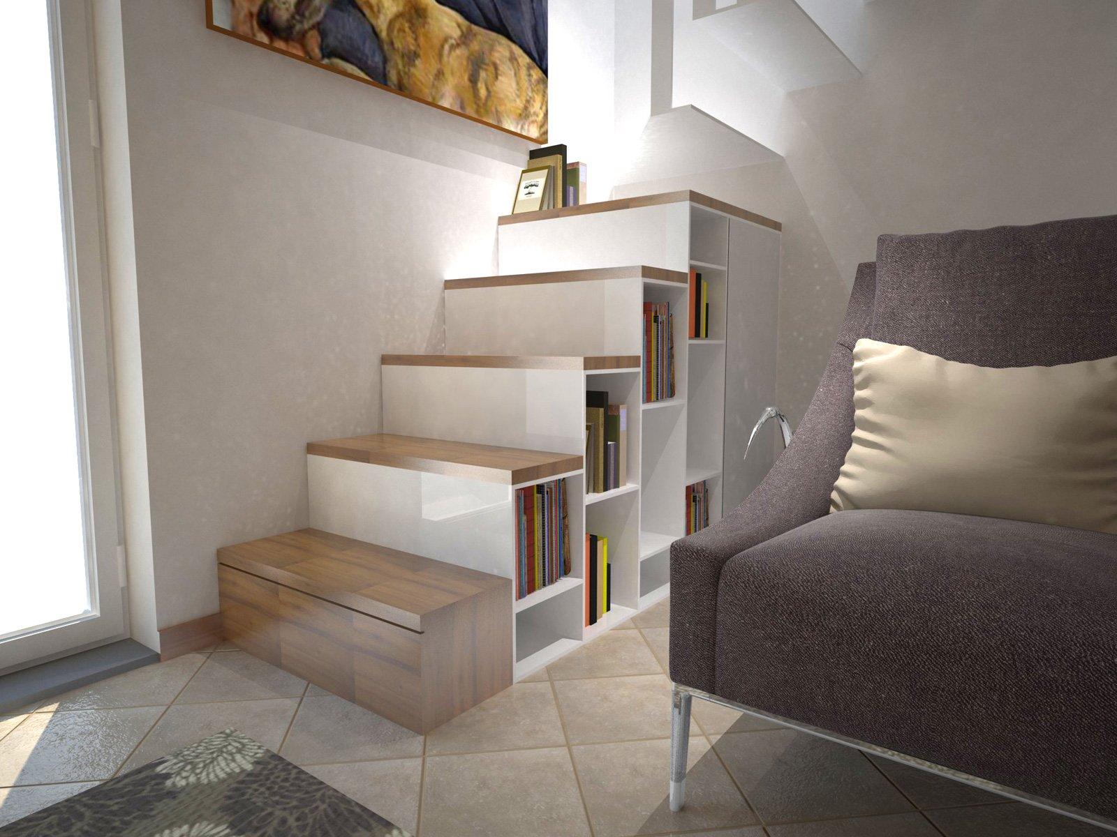 Arredare un soggiorno con tante aperture sulle pareti for Case interne