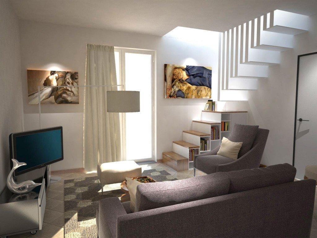 come arredare un soggiorno arredamento : Arredare un soggiorno con tante aperture sulle pareti - Cose di Casa