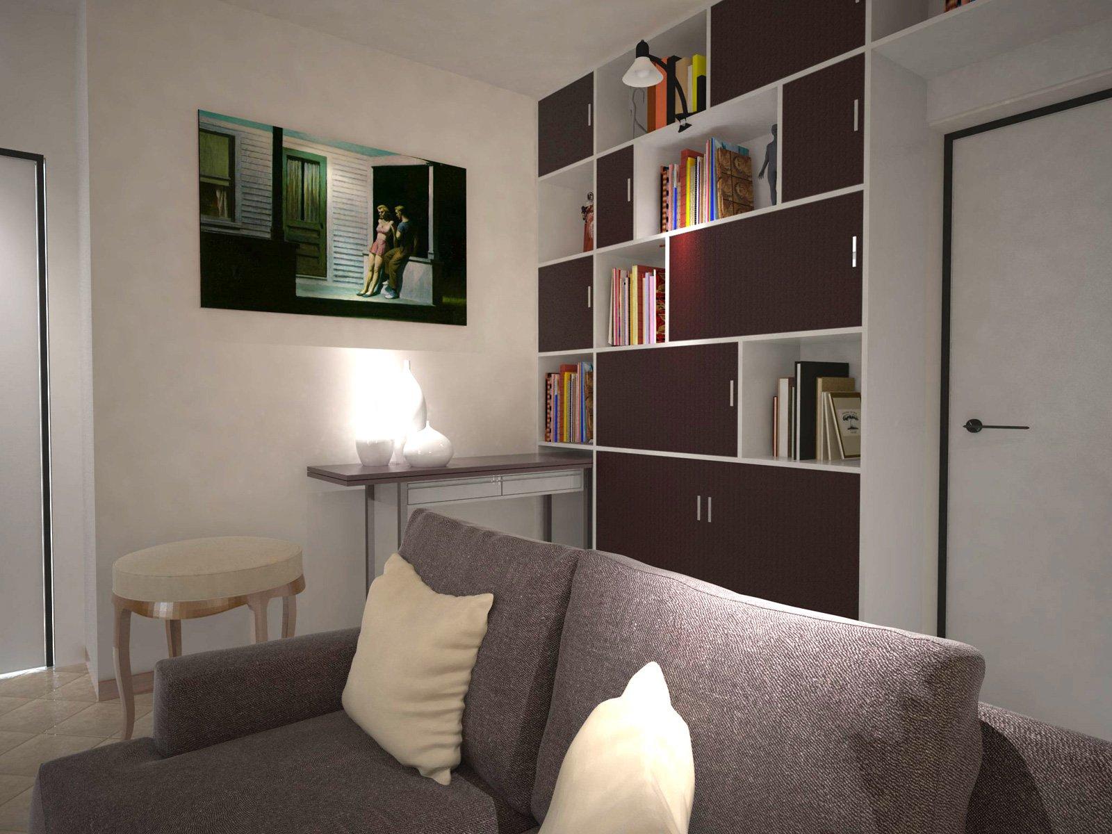 Arredare un soggiorno con tante aperture sulle pareti for Parete salotto