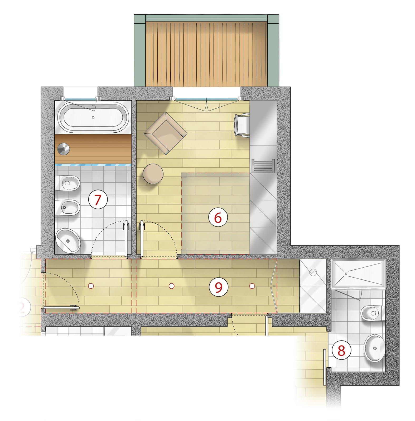 Tante idee per migliorare casa focus sulla zona notte cose di casa - Piante camera da letto ...
