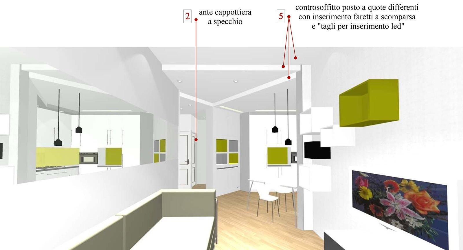 bilocale con cucina a vista - cose di casa - Soluzioni Soggiorno Cucina A Vista