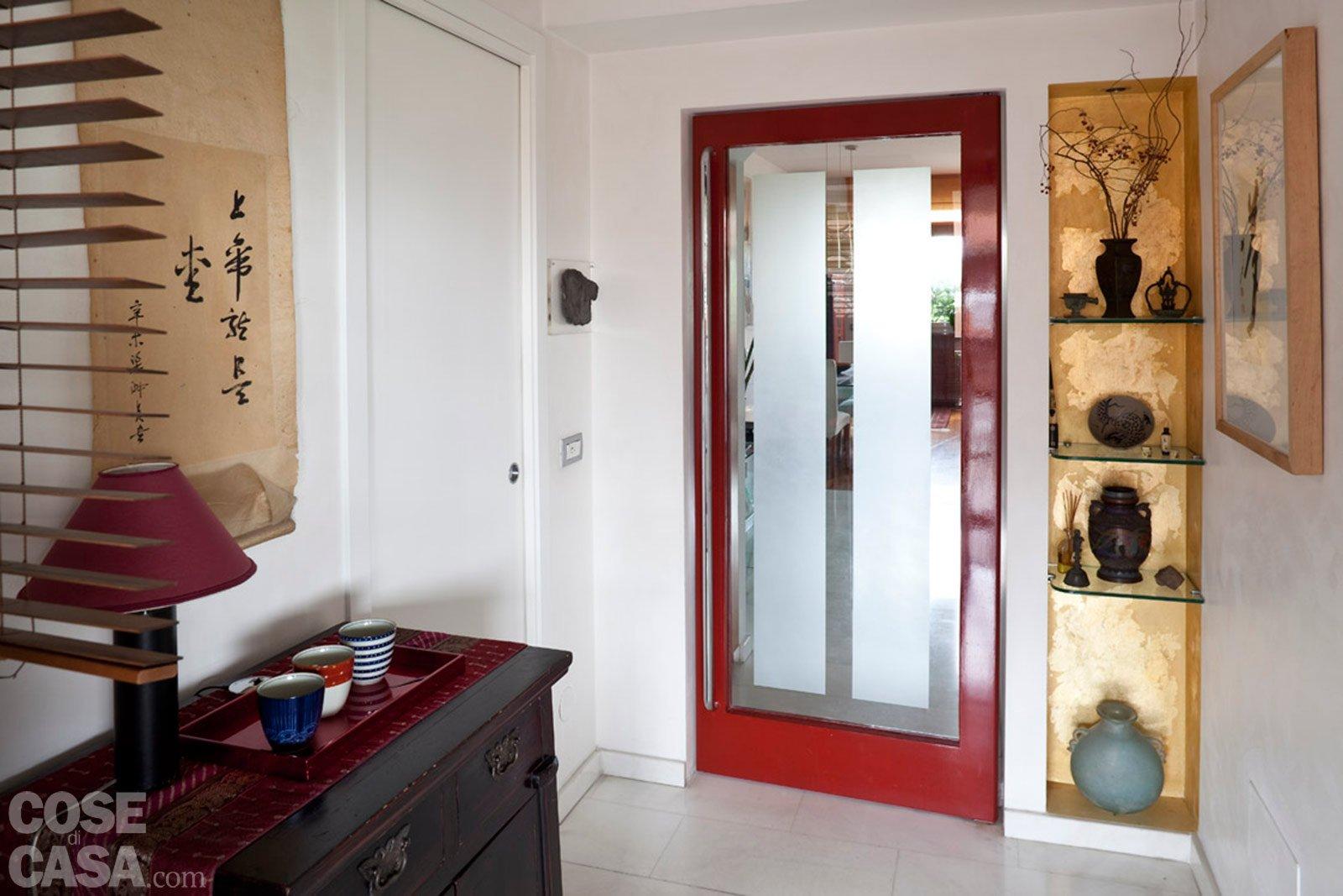 Una casa rinnovata nel look con luce moltiplicata cose - Nicchie in bagno ...