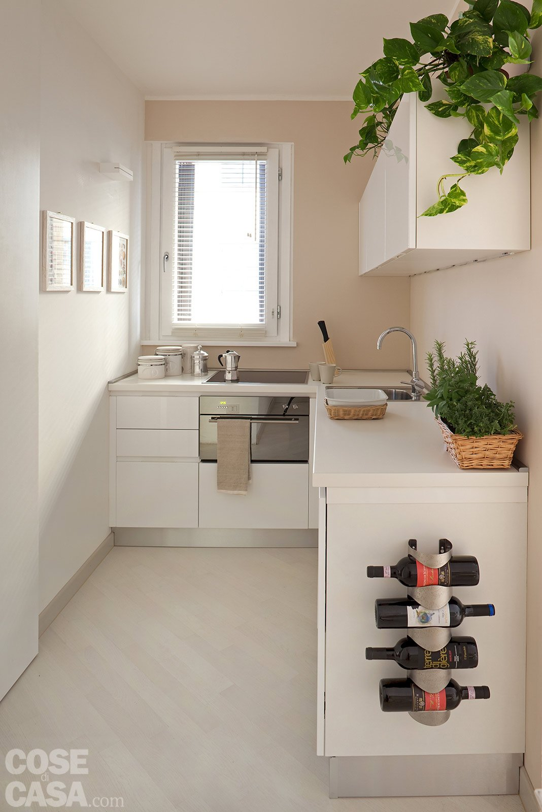 44 mq una stanza in pi in casa cose di casa for Arredare cucina piccola e stretta