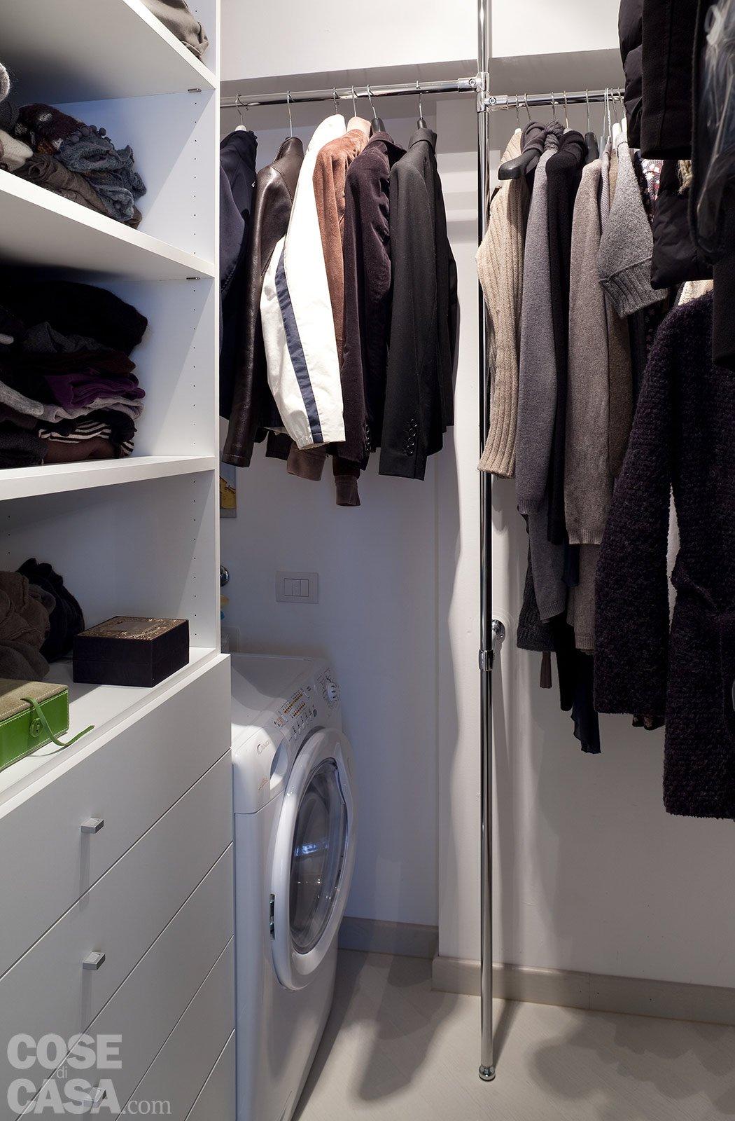 44 mq: una stanza in più in casa - cose di casa - Come Ottimizzare Lo Spazio Per La Cabina Armadio