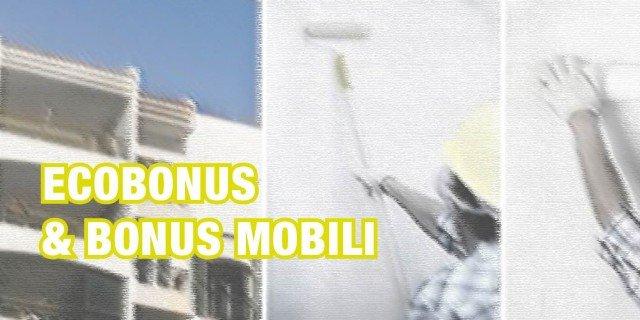 Ecobonus & bonus mobili. Il commercialista dice che…
