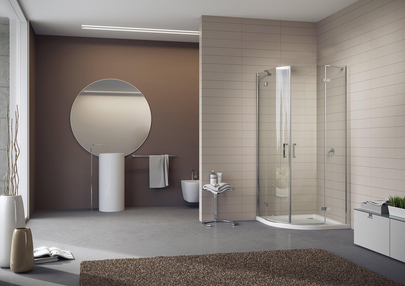 Scegliere il box doccia cose di casa - Vetri per doccia ...