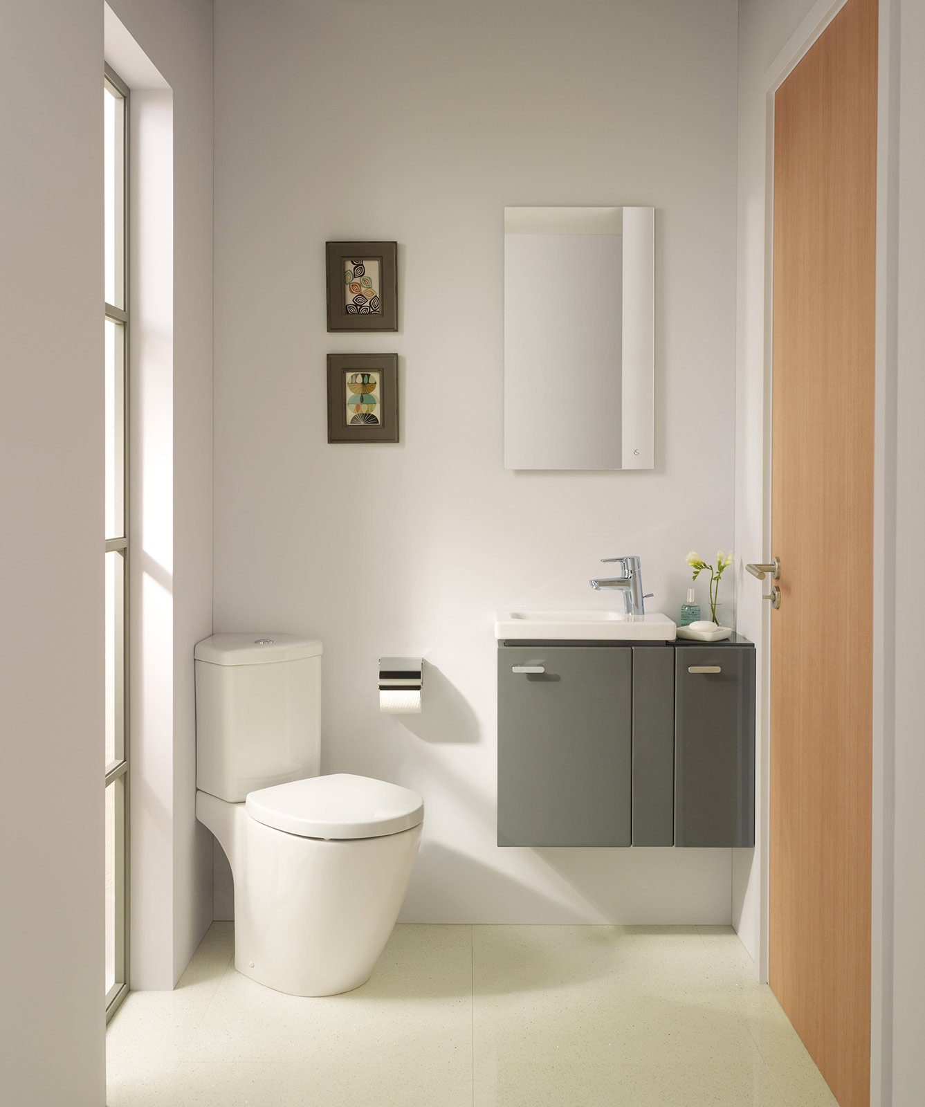 Bagno piccolo soluzioni piccole cose di casa - Bagno piccolissimo in camera ...