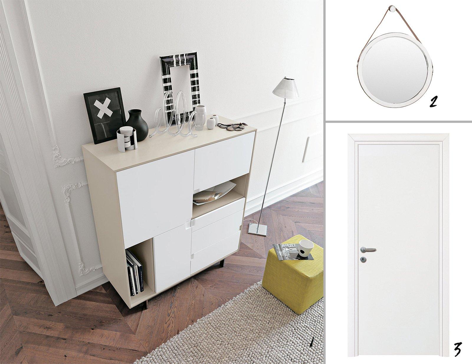 Ingresso aperto sul soggiorno idee da copiare cose di casa for Mobili x ingresso