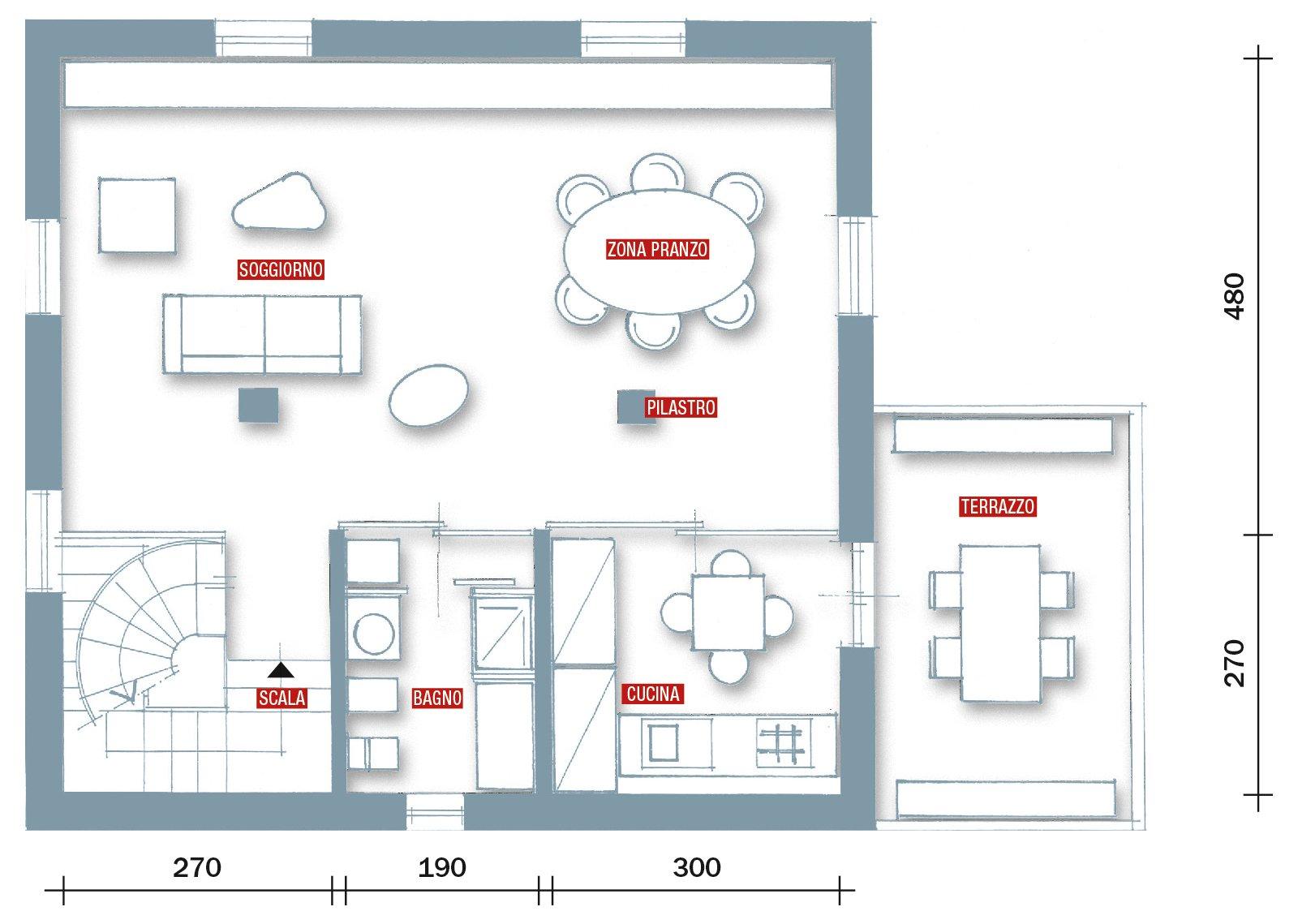 Casa soluzioni hi tech per interni anni 39 30 cose di casa for Disegni di casa piano aperto