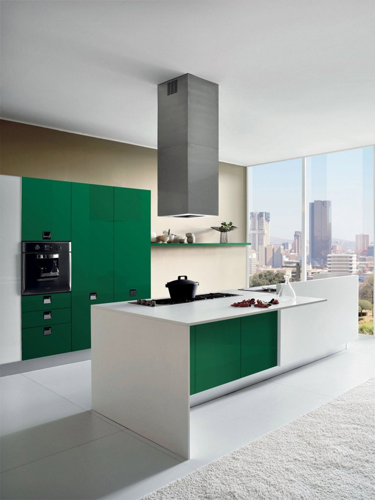 Cucine colori fluo per arredarla cose di casa - Cucine moderne color ciliegio ...