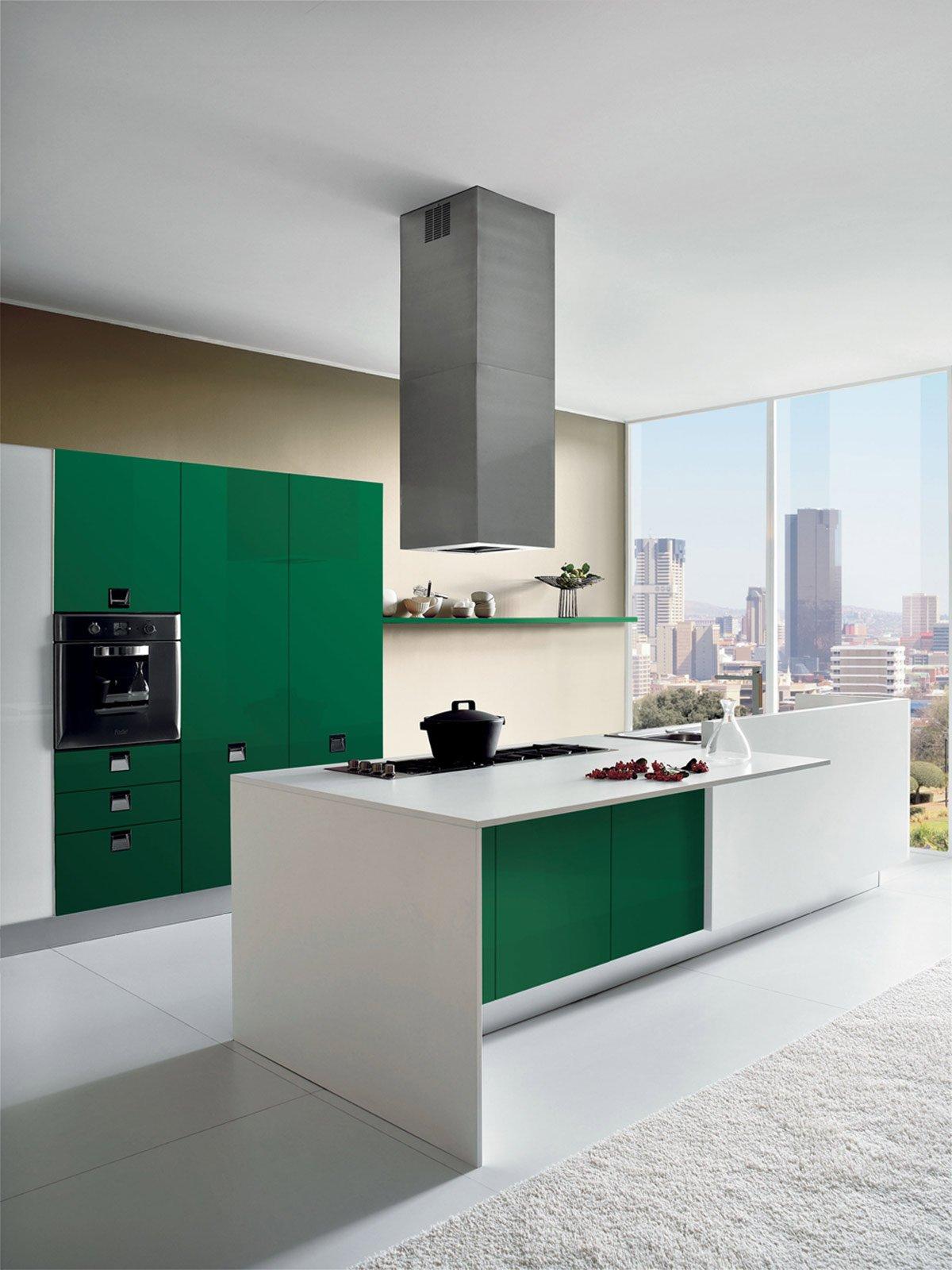 Cucine: colori fluo per arredarla - Cose di Casa