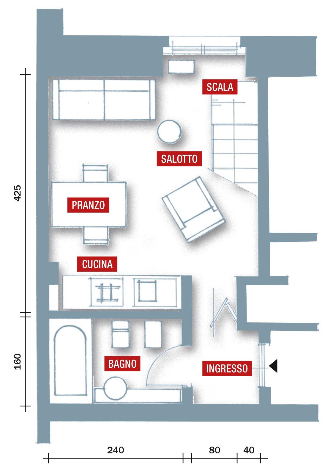 Una casa che punta al risparmio cose di casa for Ikea casa 50 mq