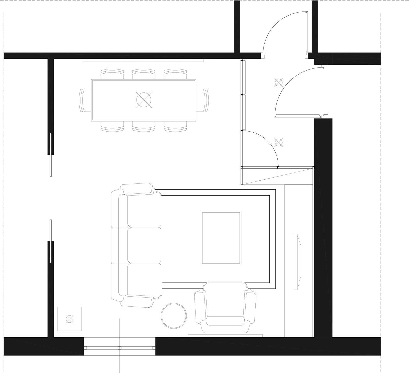 Come creare una zona d 39 ingresso nel soggiorno cose di casa for Fare una pianta della casa