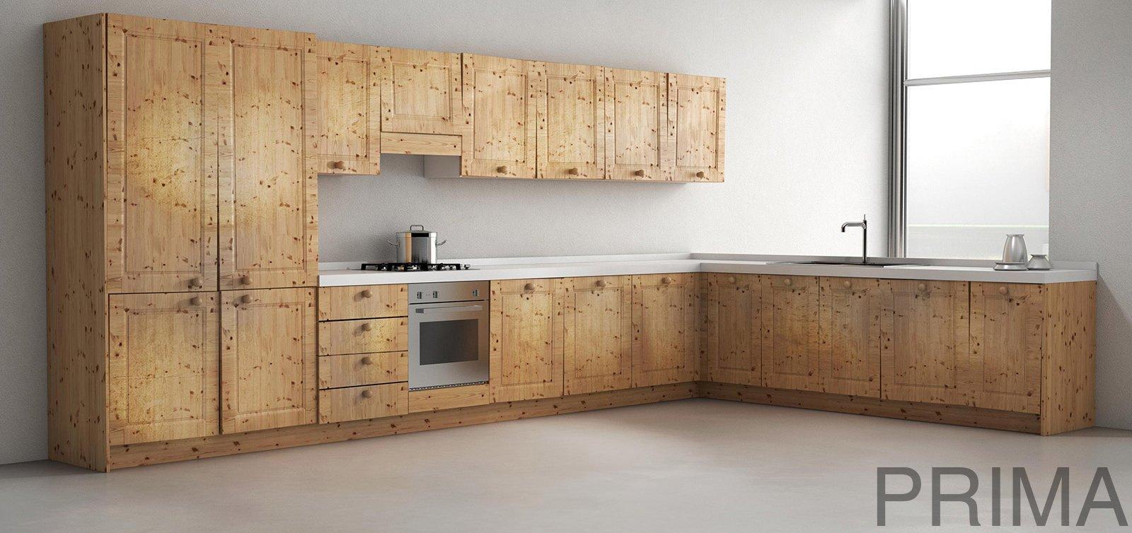 Cucina la rinnovo cambiando solo le ante cose di casa - Come rinnovare una cucina in legno ...