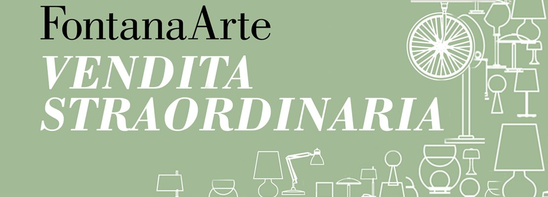 Vendita straordinaria di fine estate per fontanaarte - Fontana arte corsico ...