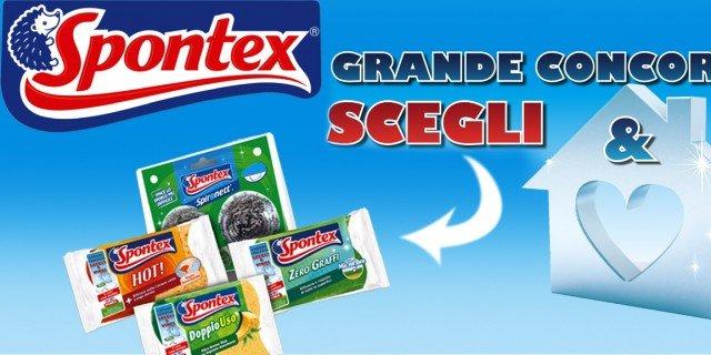 Scegli & vinci: concorso Spontex e Pyrex