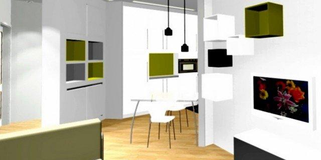 Bilocale con cucina a vista - Cose di Casa