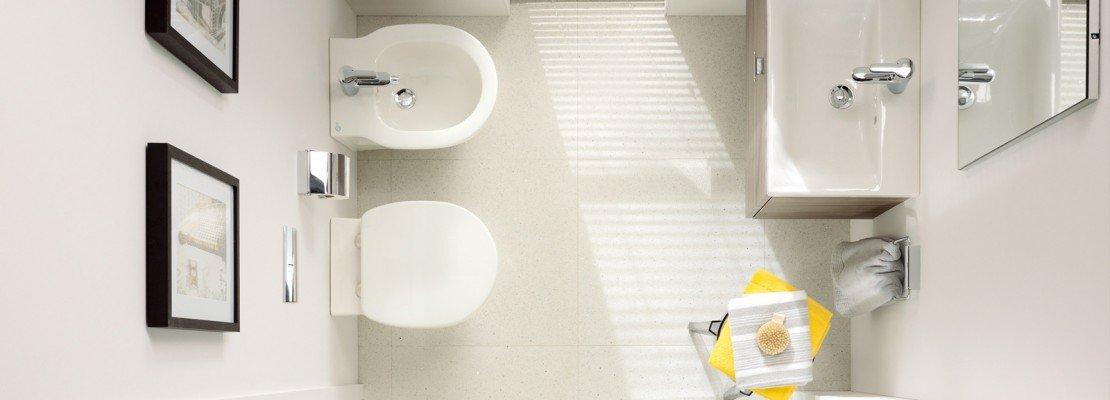 Bagno piccolo soluzioni piccole cose di casa for Misure mobili bagno
