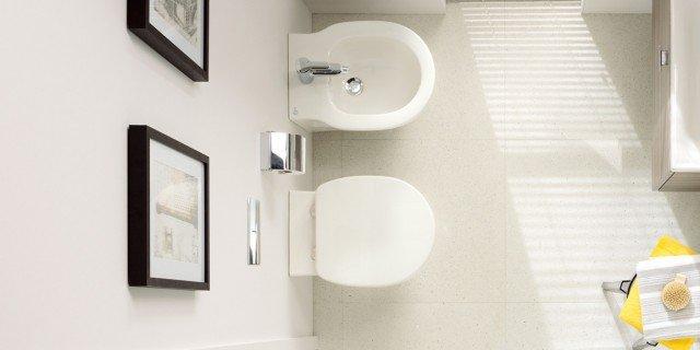 Bagno piccolo soluzioni piccole cose di casa - Sanitari per bagno piccolo ...